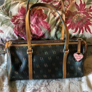 DOONEY & BOURKE ColorLogo Rounded Handbag NEW WEAR